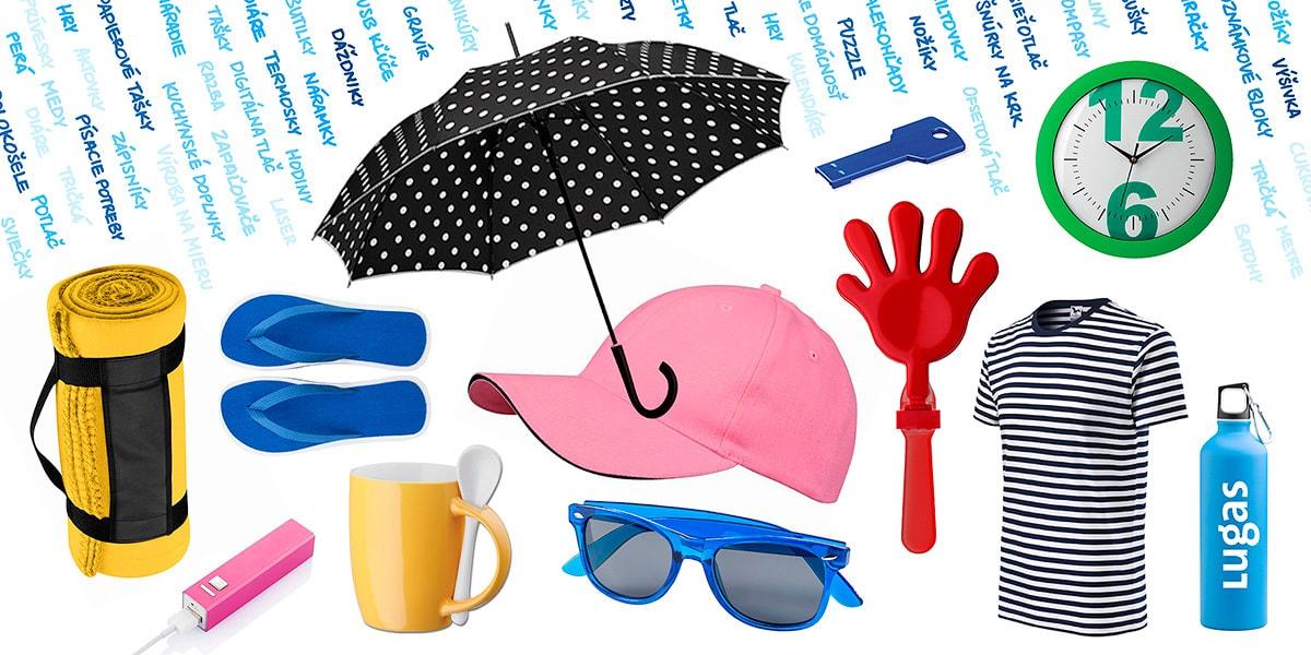 Lugas – reklamné a darčekové predmety frontpage banner