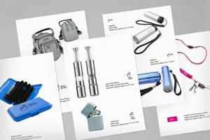 Grafický návrh potlače reklamných predmetov