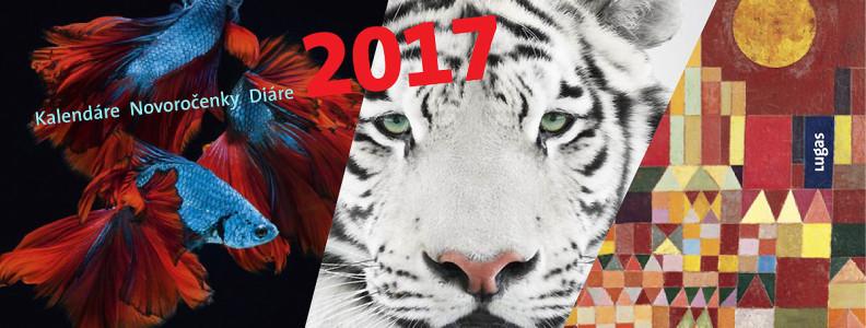 Lugas banner kalendare diare novorocenky 2017 potlac loga