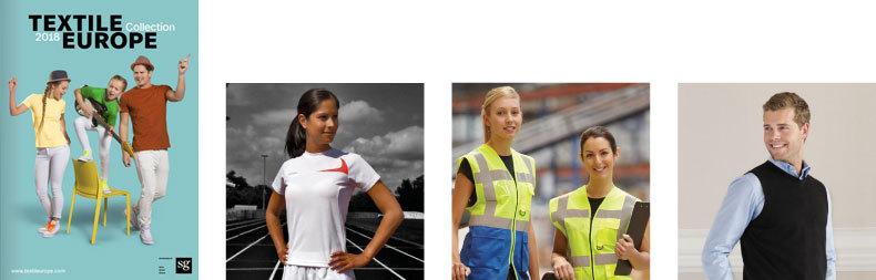 Katalóg reklamné predmety športové pracovné oblečenie 2018 Textile_Europe