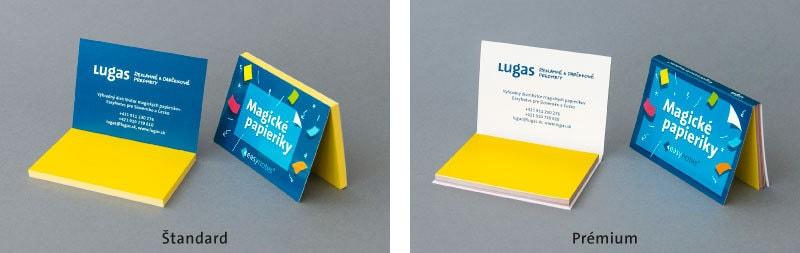 Lugas Magické papieriky EasyNotes Štandard Prémium