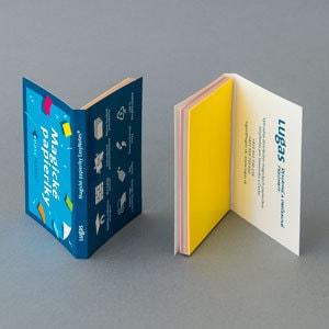 Lugas Magické papieriky EasyNotes – príprava grafických podkladov pre tlač