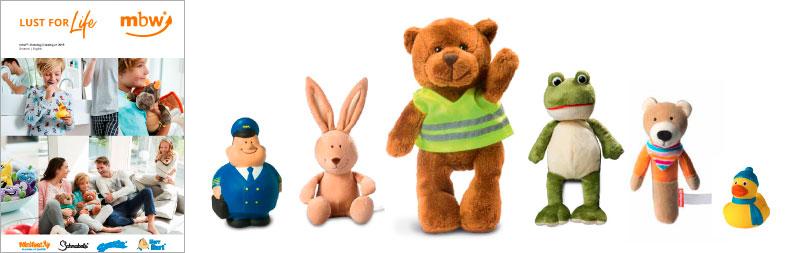 Katalóg reklamné predmety plyšové hračky 2019 Lugas mbw