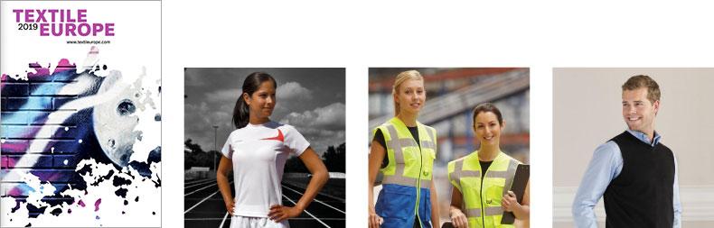 Textile Europe 2019 – Katalóg reklamné predmety športové pracovné oblečenie