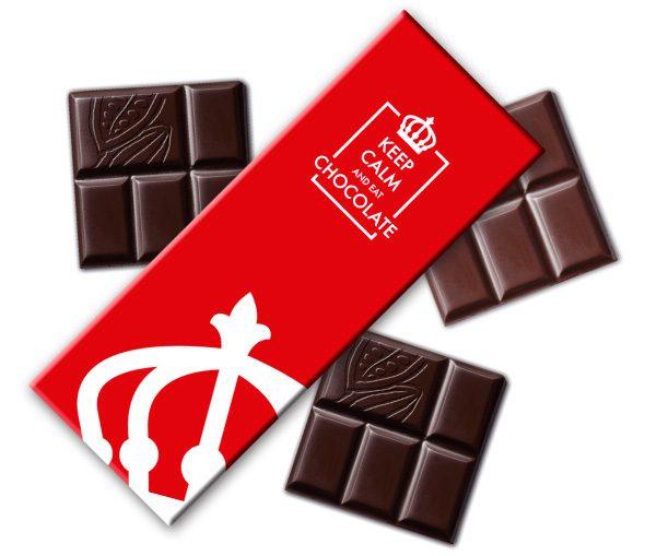 Kolekcia čokolád single origin s logom