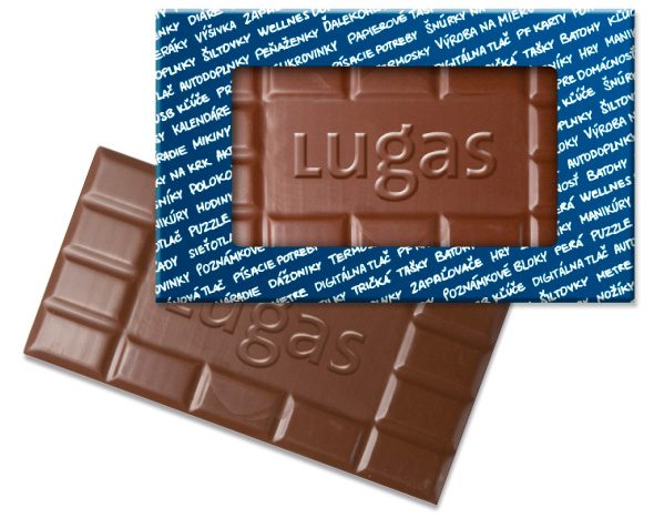 """Čokoláda s logom """"Čoko logo"""""""