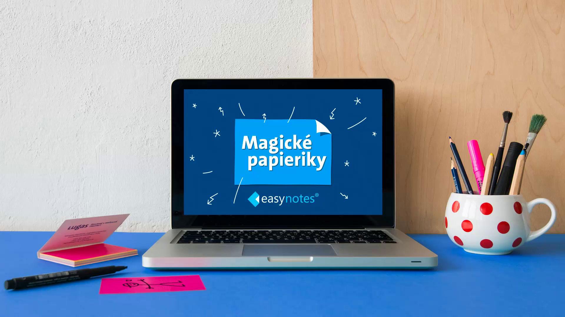 Lugas Magické papieriky EasyNotes