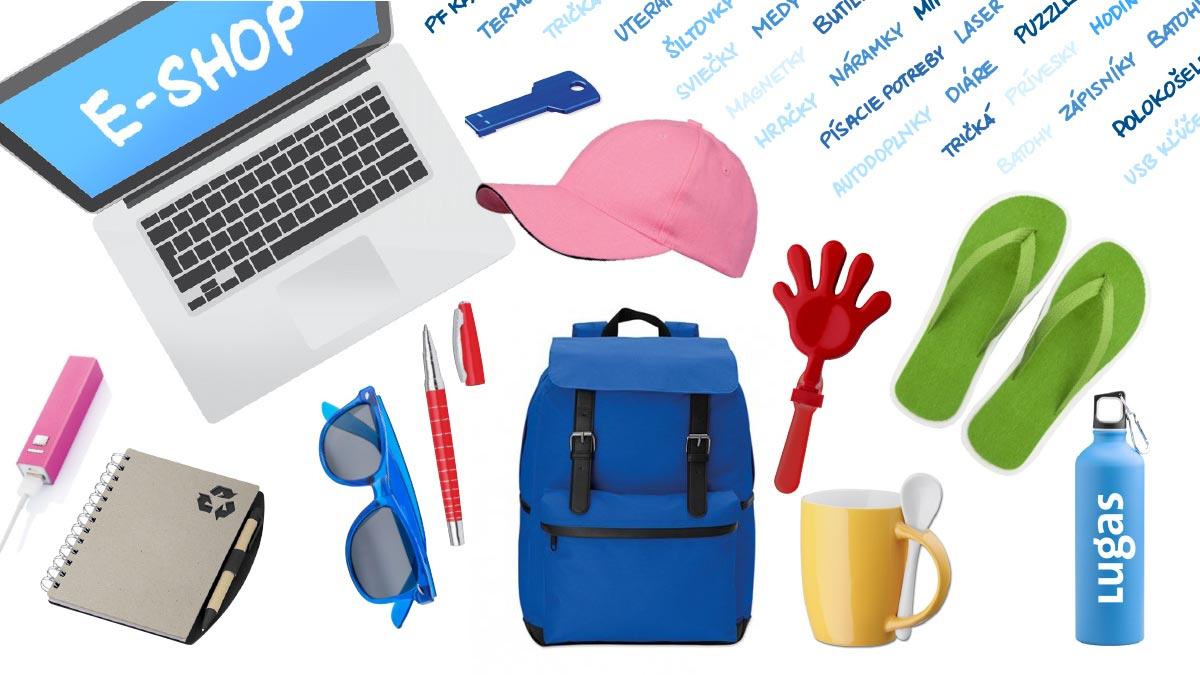 Lugas – reklamné a darčekové predmety – e-shop