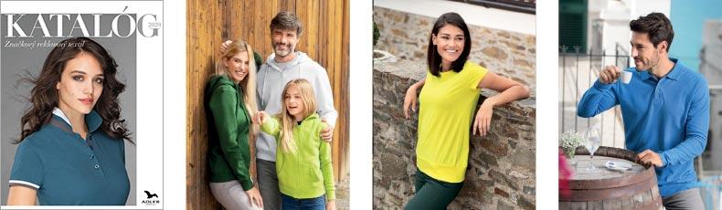 Adler 2020 – katalóg značkový reklamný textil