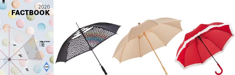 Fare FactBook 2020 – katalóg reklamné predmety dáždniky a slnečníky