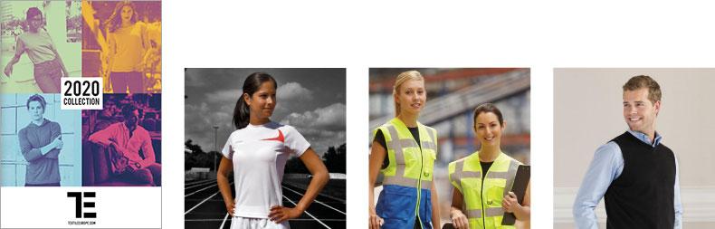 Textile Europe 2020 – katalóg reklamné predmety textil športové pracovné oblečenie