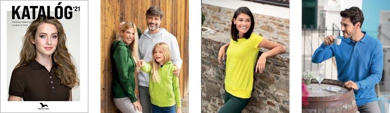 Adler 2021 – katalóg značkový reklamný textil